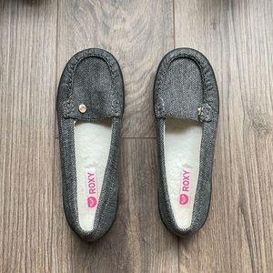 ROXY Grey Piccolo III Loafers